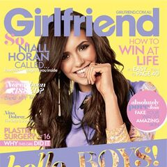 Girlfriend — Nov 2012, Australia, Nina Dobrev