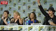 The Vampire Diaries Comic Con Panel 2014