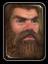 Icon dwarf male