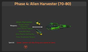 Alien harvester 70-80