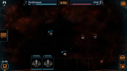 Pathfinder corvettes fighting using pulse rays