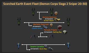 Demon Corps Siege 2 Sniper 20-50