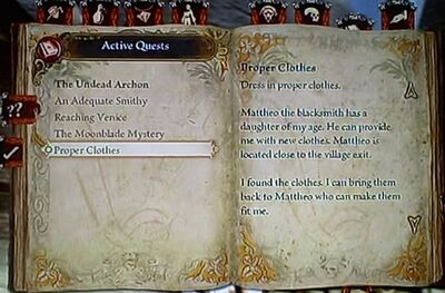 Early Active Quest List