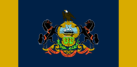 Pennsylvania State Flag Proposal No 2 By Stephen Richard Barlow 31 AuG 2014 at 1343hrs cst