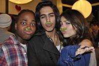 Avan,Victoria, and Leon