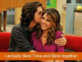 Trina and Beck together