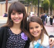 Victoria and Madison Justice