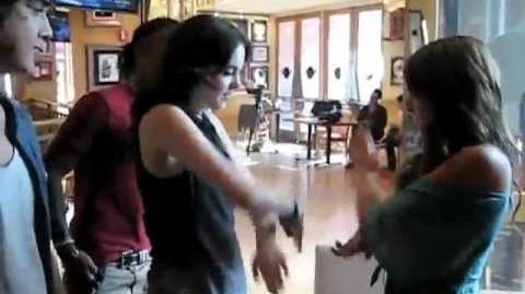 Daniella Monet - New Dance Moves with Matt , Elizabeth & Leon