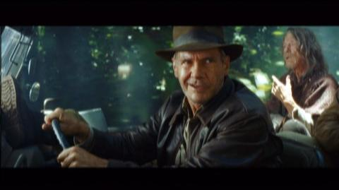 Indiana Jones and the Kingdom of the Crystal Skull The Complete Adventures Blu-Ray (2008) - Clip Jeep Chase