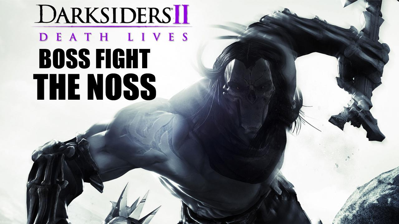 Darksiders II Mini Boss Fight The Noss - Gameplay