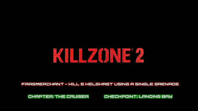 Killzone 2 PlayStation 3 Guide-Achievement Trophy - Walkthrough Fragmerchant and Fragmartyr Trophies