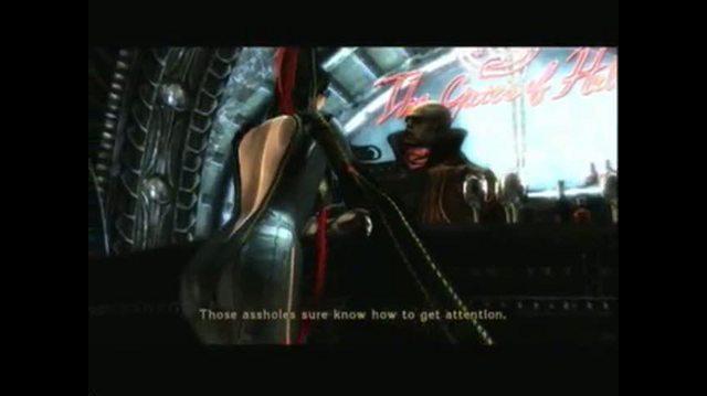 Bayonetta Xbox 360 Guide-Walkthrough - Walkthrough Prologue (Part 4 of 4)