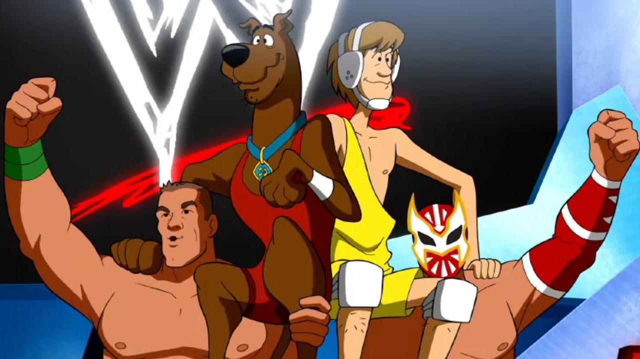 Download Scooby-Doo! And WWE: Curse of the Speed Demon 2016 Movie