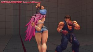 Ultra Street Fighter IV - Poison Gameplay