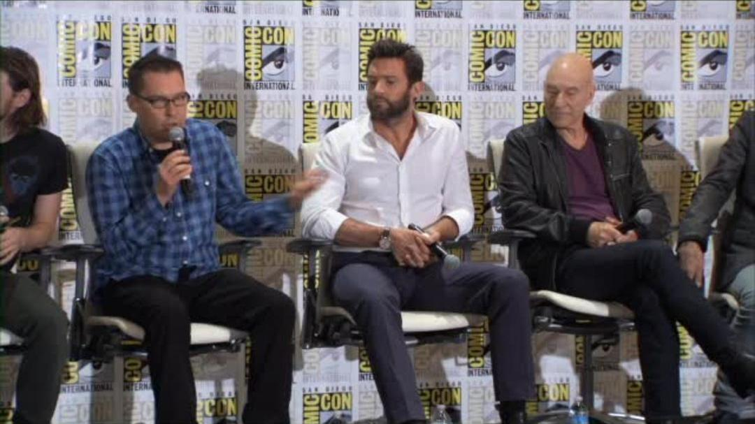 X-Men Days Of Future Past - Comic-Con Press Conference Part 1 2