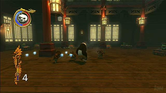 Kung Fu Panda Xbox 360 Gameplay - Hog Fight