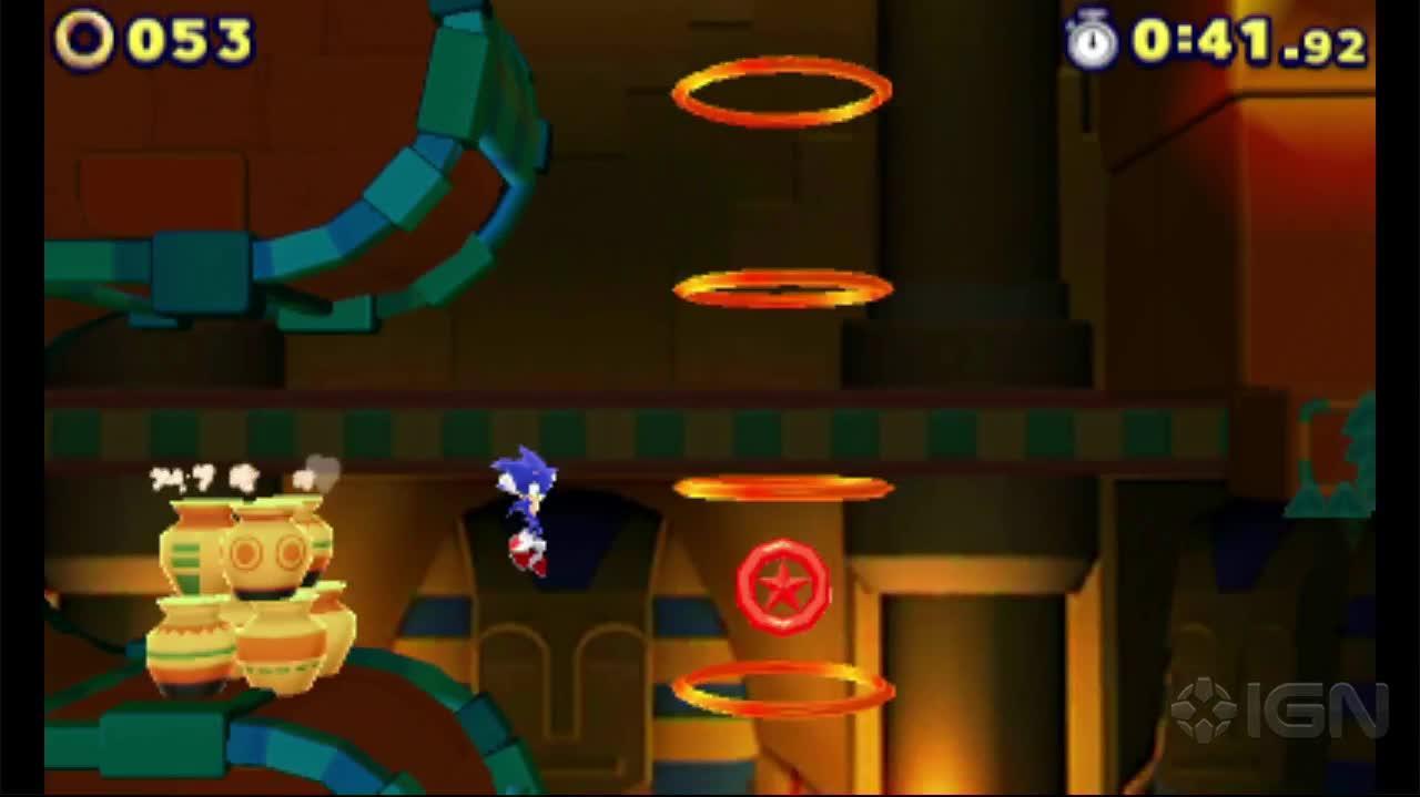Sonic Lost Worlds Desert Ruins Zone 2 Gameplay