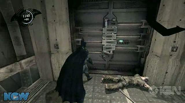 Batman Arkham Asylum Video Guide-Walkthrough - BAA - Upgrade and Liquor Tracking