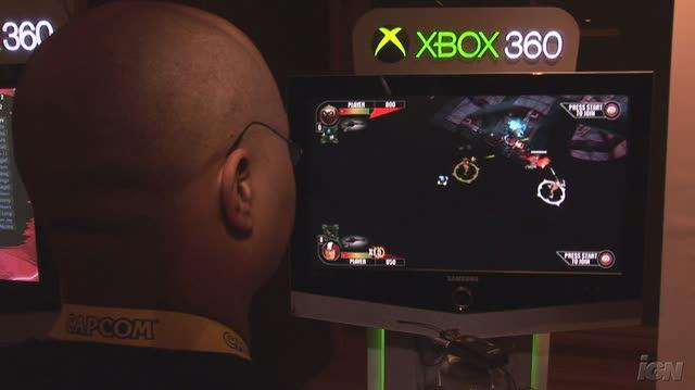 Rocketmen Axis of Evil Xbox Live Gameplay - Shoot Em Down