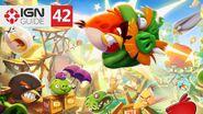 Angry Birds 2 - 3 Star Walkthrough Eggchanted Woods (Level 42)