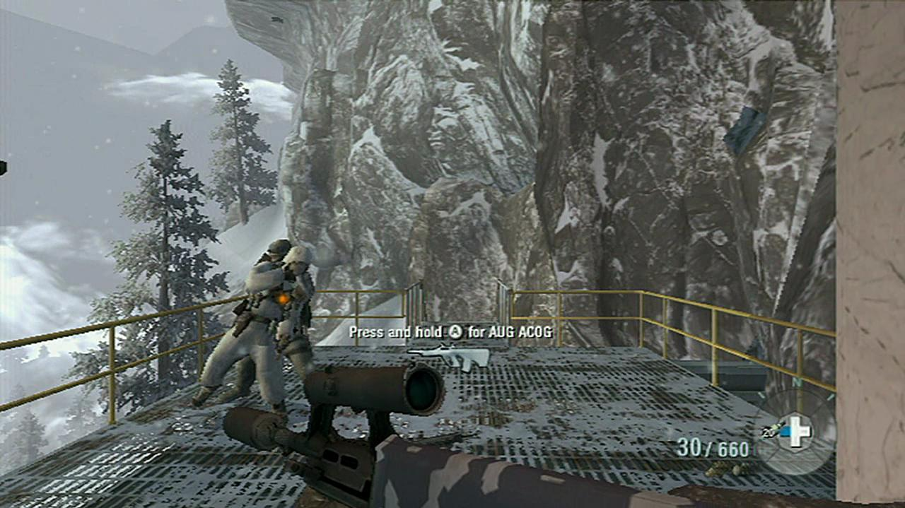 Call of Duty Black Ops WMD Level Gameplay