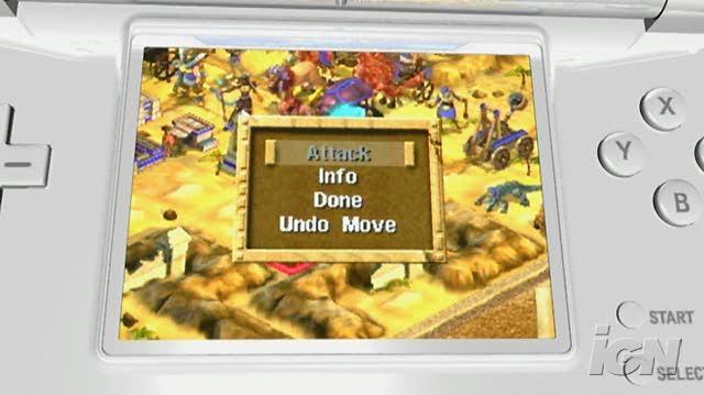 Age of Empires Mythologies Nintendo DS Trailer - Prepare for Battle