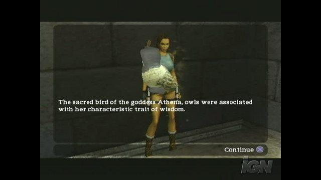 Tomb Raider Anniversary PlayStation 2 Gameplay - On the Move