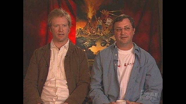 Aqua Teen Hunger Force Colon Movie Film for Theaters Movie Interview - Dave Willis & Matt Maiellaro
