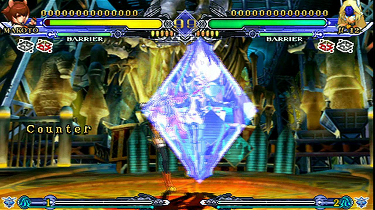 BlazBlue Continuum Shift II - Old Friends Clash