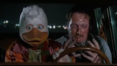 Howard the Duck - transforming into an alien