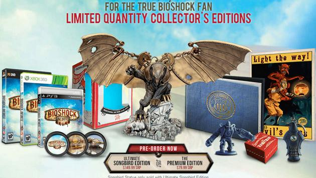 News Bioshock Infinite Special Editions Announced