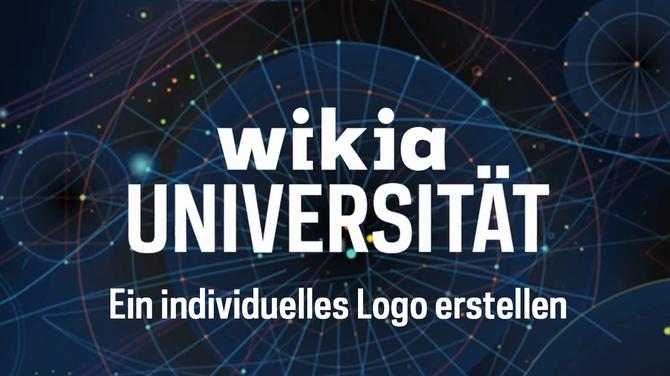 Wikia-Universität - Ein individuelles Logo erstellen