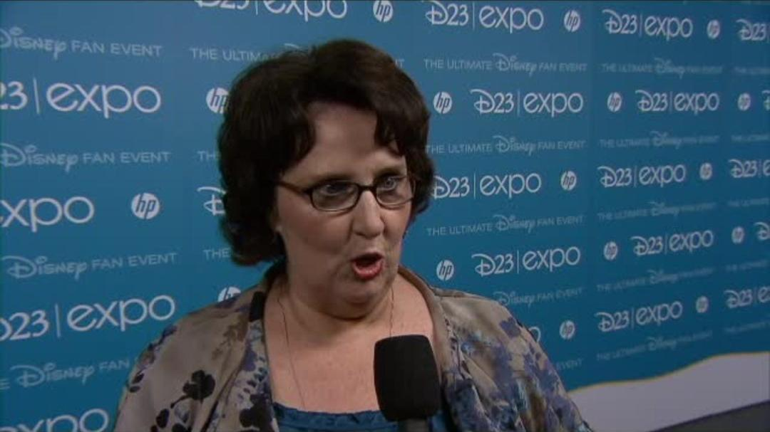Inside Out - Phyllis Smith D23 Interview