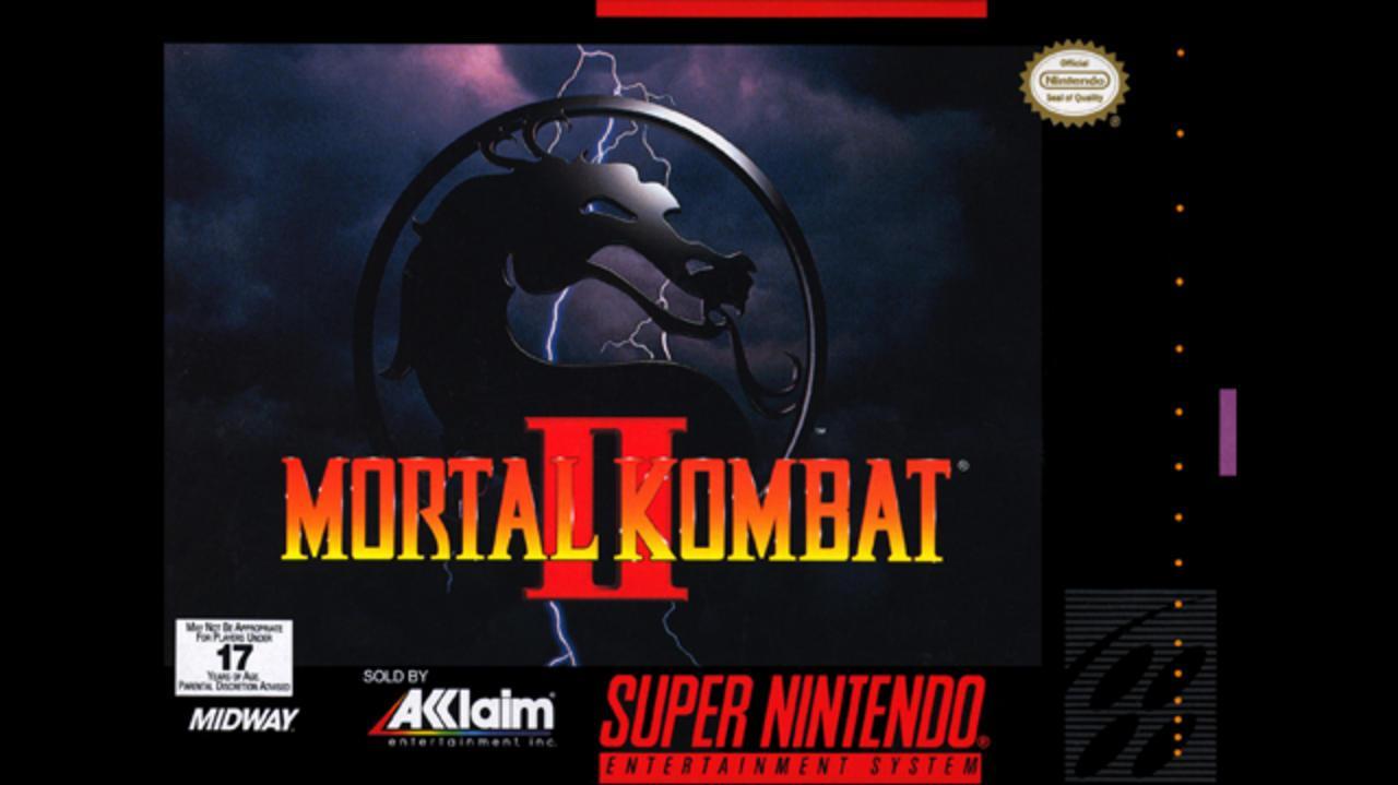 Mortal Kombat 2 Bicycle Kick