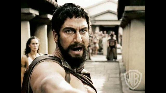 300 The Complete Experience Blu-ray Clip - This Is Sparta