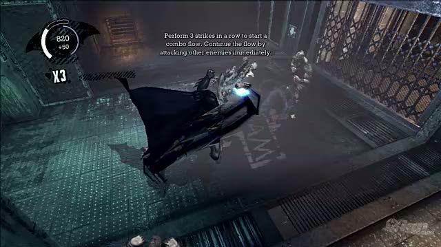 Batman Arkham Asylum PlayStation 3 Video - IGN Montage Free Flow Combat