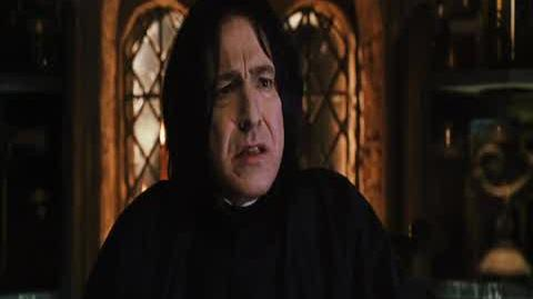 Harry Potter and the Chamber of Secrets - Snape's Reproach