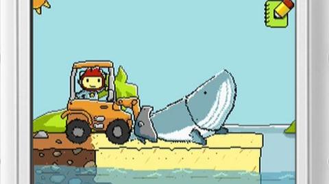 Scribblenauts (VG) (2009) - Game play trailer for this innovative new game