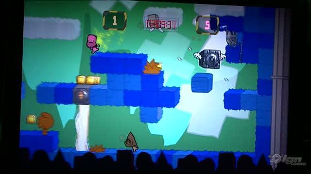 BattleBlock Theater Xbox 360 Gameplay - PAX 09 Gameplay 1 (Off-Screen)