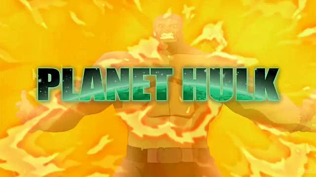 Planet Hulk Movie Trailer - SDCC '09 Trailer