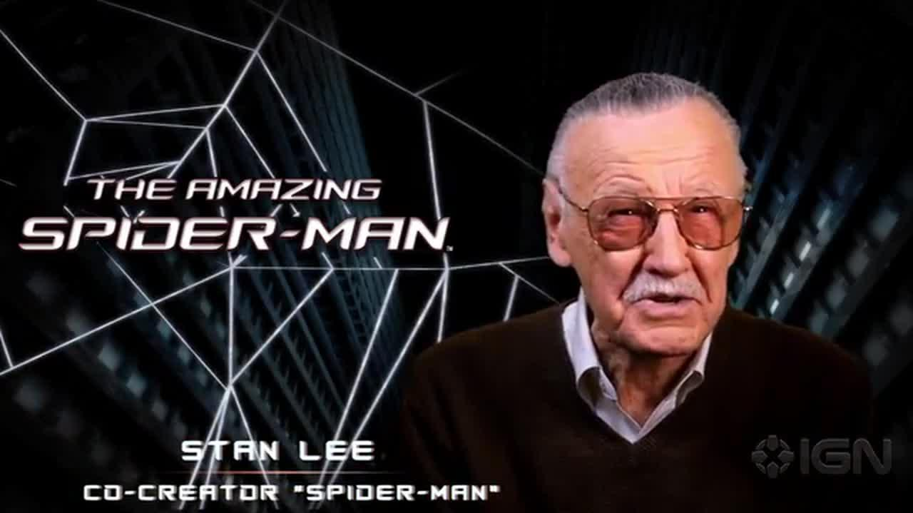 The Amazing Spider-Man Stan Lee Reveal Trailer