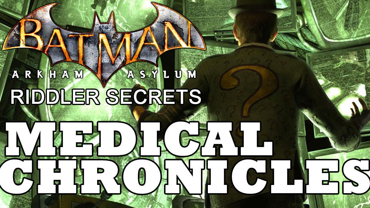 Batman Arkham Asylum Medical Building Chronicles