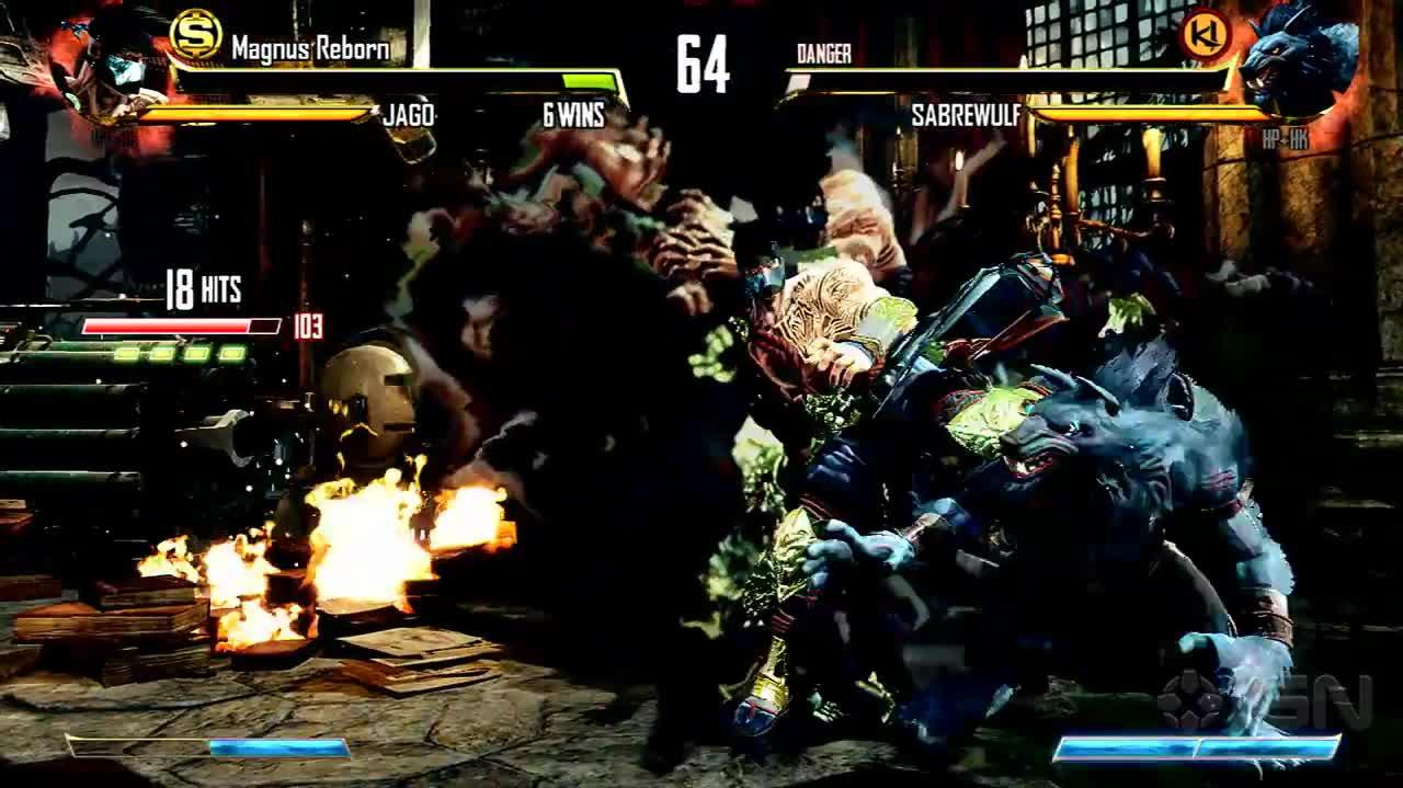 Killer Instinct - 115-Hit Ultra Combo With Jago