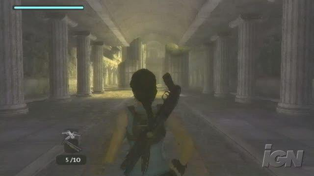 Tomb Raider Anniversary PlayStation 2 Gameplay - Cat-Scratch Fever