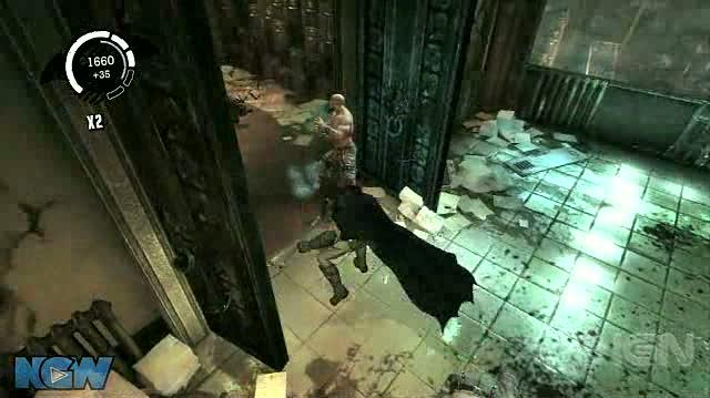 Batman Arkham Asylum Video Guide-Walkthrough - BAA - Office CSI