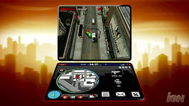 Grand Theft Auto Chinatown Wars Nintendo DS Trailer - Gameplay Trailer