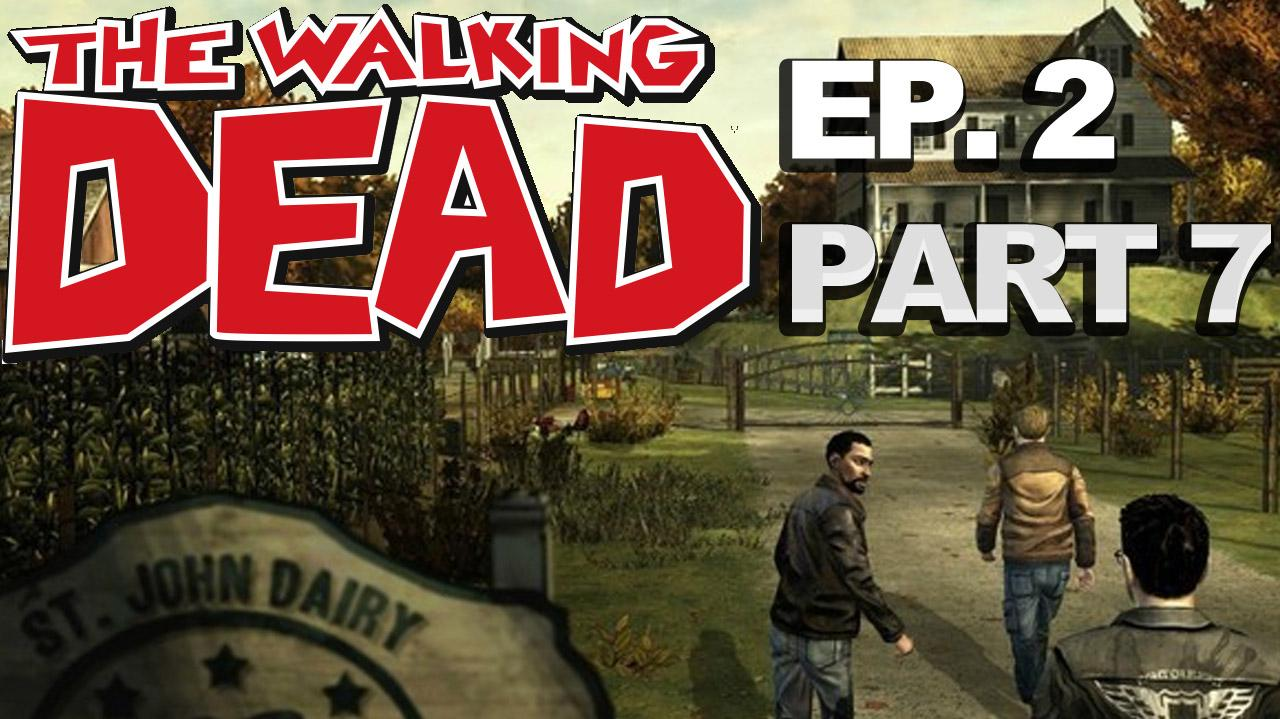 *Spoilers* The Walking Dead The Game Episode 2 Walkthrough Part 7