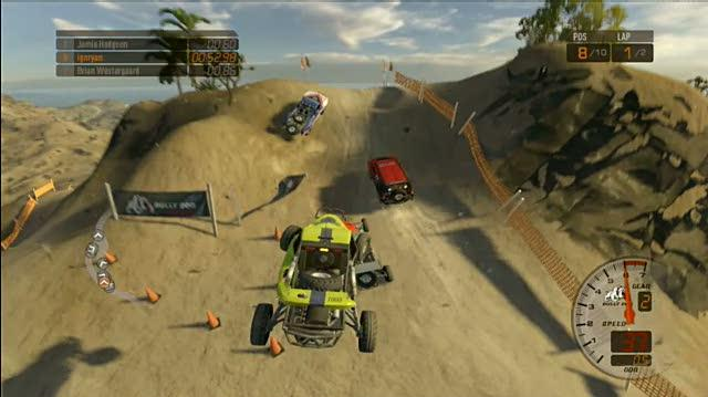 Baja Edge of Control Xbox 360 Gameplay - Hill Climb