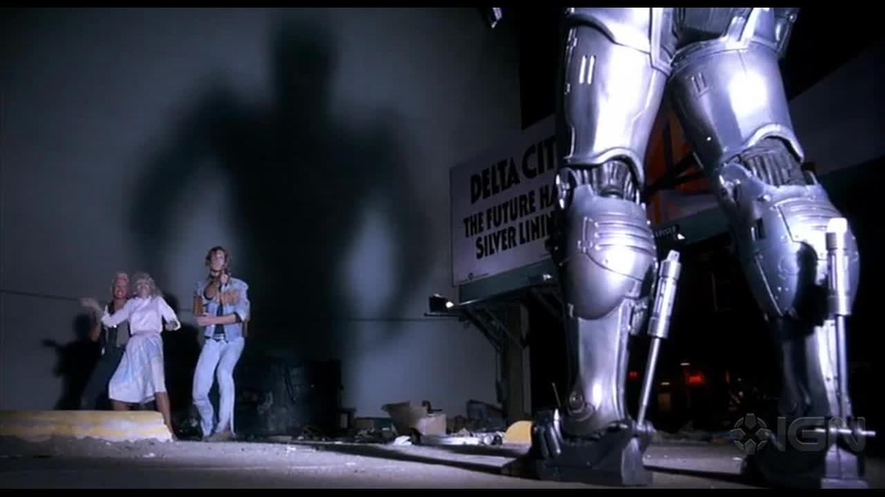 Top 25 Action Movies - RoboCop Clip