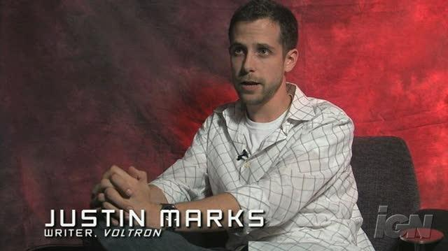 Voltron Movie Interview - Justin Marks talks Voltron